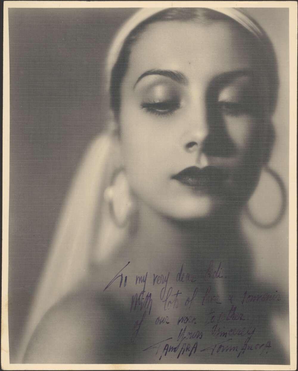 Балерина Тамара Туманова (1919 - 1996). Фотографии из коллекции Национальной библиотеки Австралии (National Library of Australia)